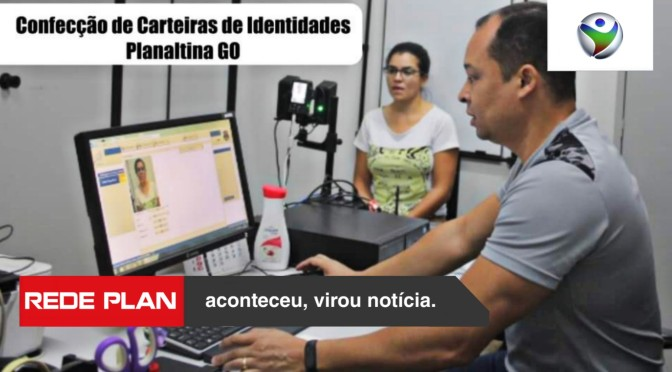 Entregues as primeiras carteiras de identidade confeccionadas em Planaltina Goiás | RP