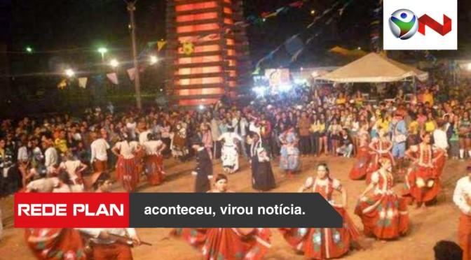 Festa Julina na praça central de Planaltina Goiás dias 12, 13 e 14/07 – programação | RP