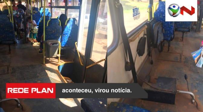 Passageiros reclamam da situação do ônibus que faz linha São Gabriel / Planaltina-GO | RP