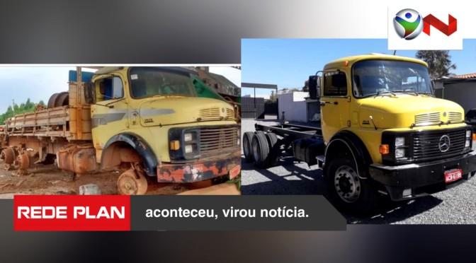 Prefeitura restaura caminhão velho para instalar usina e economiza dinheiro público | RP