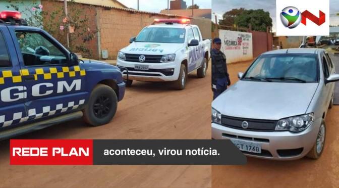 Guarda Civil Municipal localiza carro roubado em São Gabriel-GO | RP
