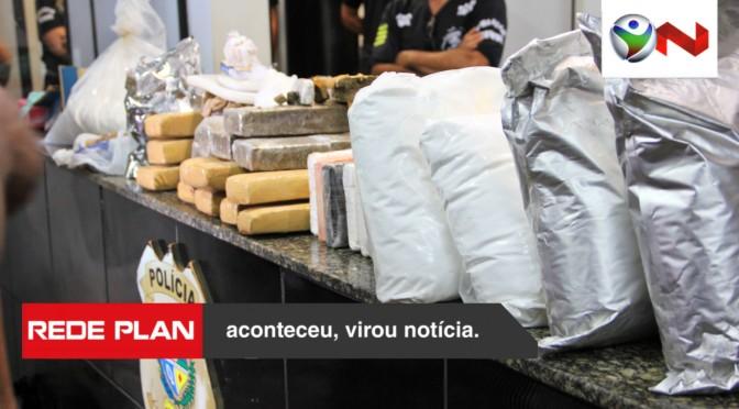 Polícia Militar apreende mais de 50kg de drogas em Planaltina Goiás nesta sexta (30) | RP