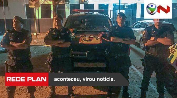 GPT prende casal por tráfico de drogas em Planaltina Goiás | RP