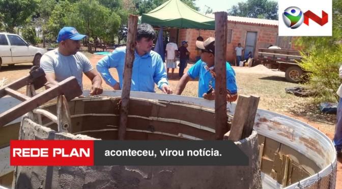 Prefeito visita construção do primeiro Biodigestor sertanejo selado de Goiás | RP