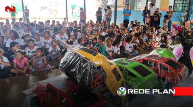 Governo entrega brinquedos nas escolas; confira o cronograma | RP